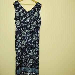 Appropriate Behavior Dress Blue/Light blue size 18